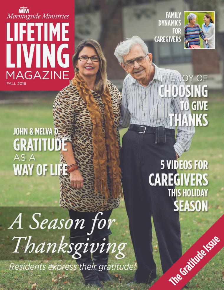 Lifetime Living Magazine Fall 2016