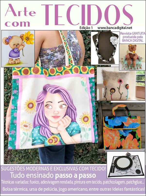 Arte com Tecidos Edição 1