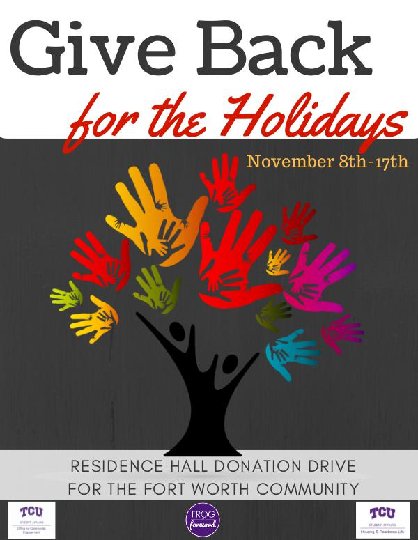 Give Back for the Holidays 1