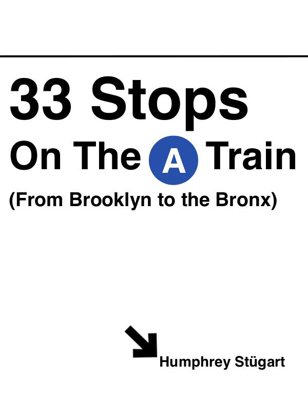 STÜ - NEW YORK 33 Stops