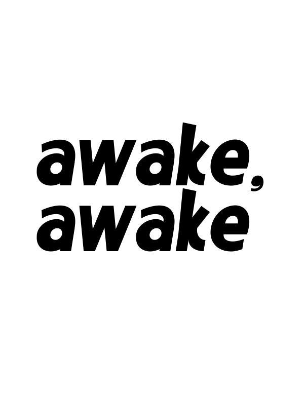 SYNTHESIS AWAKE, AWAKE