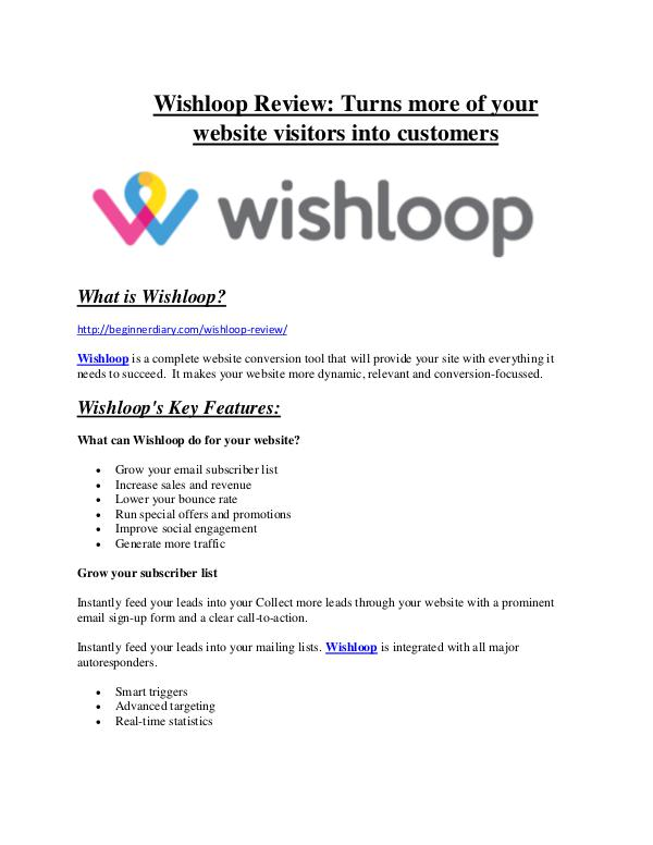 marketing Wishloop Review and $30000 Bonus - Wishloop 80% DISCOUNT