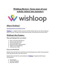 marketing Wishloop Review and $30000 Bonus - Wishloop 80% DISCOUNT