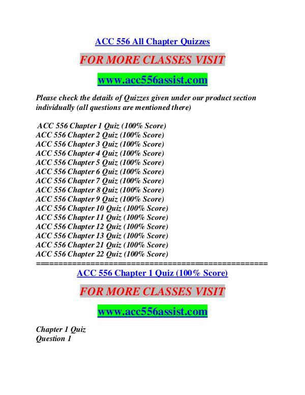 ACC 556 ASSIST Education  Terms/acc556assist.com ACC 556 ASSIST Education  Terms/acc556assist.com