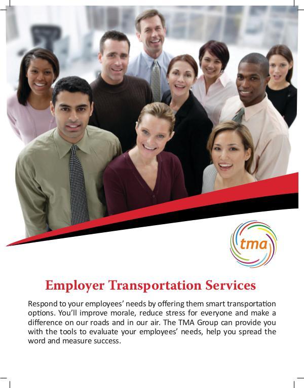 TMA Employer Transportation Services Transportation Service for Employers