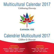 Canada 150 Diversity Calendar