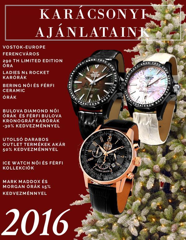 Karora watch catalogue