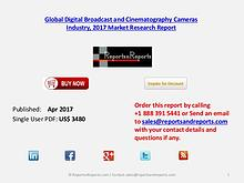 Forecasts on Digital Broadcast and Cinematography Cameras Market 2022