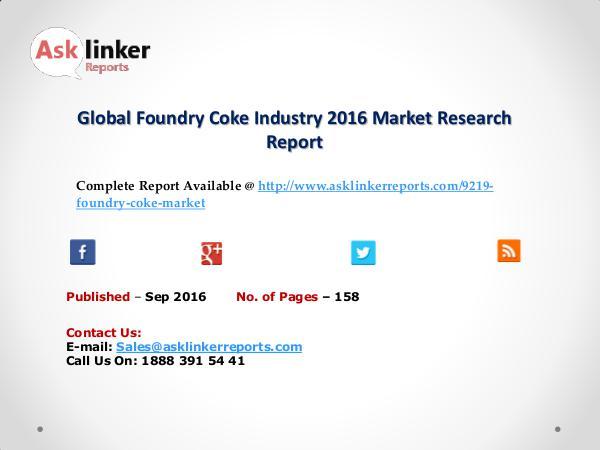 Global FCC Catalyst Additive Sales Market Forecasts 2021: Market Sep 2016