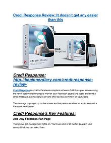 Credi Response review - Credi Response +100 bonus items Credi Response Review - Credi Response +100 bonus items