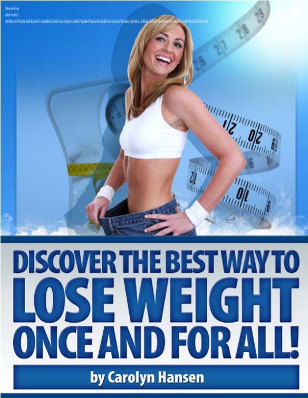 Carolyn Hansen Weight Loss EBook PDF Download Carolyn Hansen The Weight Loss Motivation Bible Fo