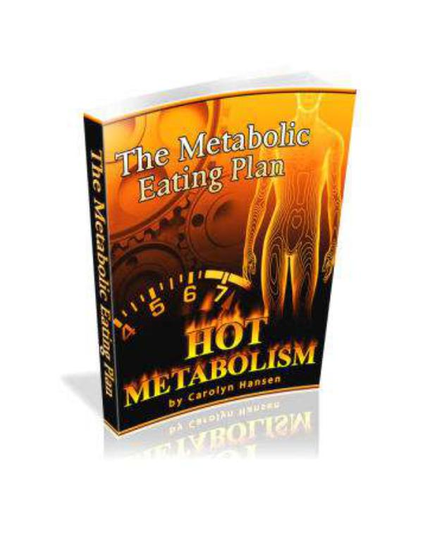 Carolyn Hansen Weight Loss EBook PDF Download Carolyn Hansen Hot Metabolism Formula