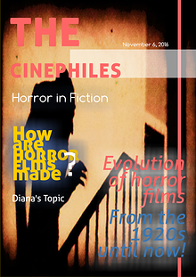 The Cinephiles: Horror in Fiction
