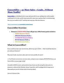 marketing Convertifire review and (MEGA) bonuses – Convertifire