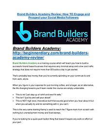 Brand Builders Academy review and sneak peek demo Brand Builders Academy review - Brand Builders Academy (MEGA) $23,800 bonuses