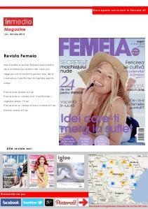 Inmedio Magazine 25 Iulie 2013