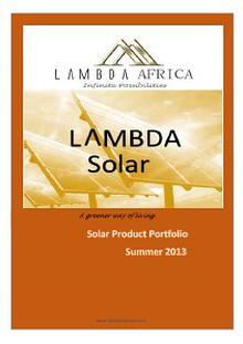 Lambda Africa 2013
