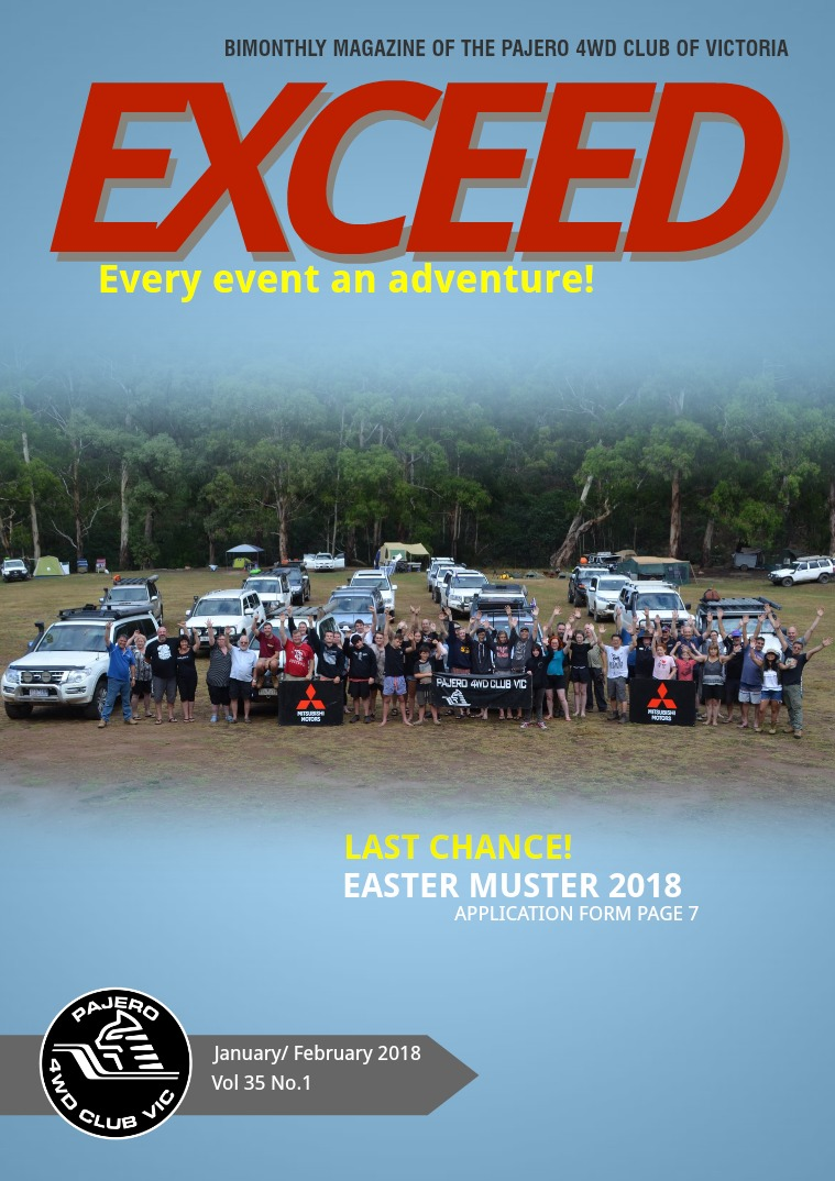 EXCEED January/February 2018 Vol 35 No:1