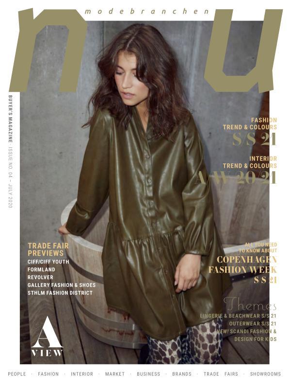 modebranchen.NU buyer's magazine NU no 4 July/August 2020
