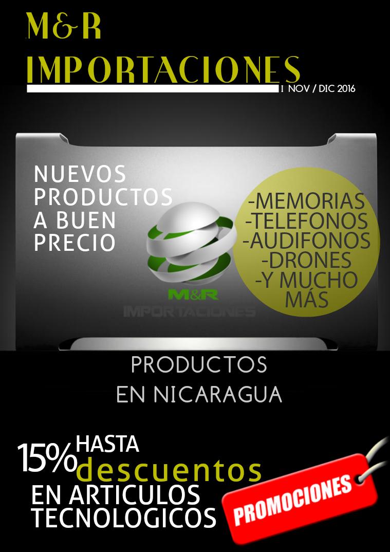 Catálogo de mes de Noviembre y Diciembre   M&RIMPORTACIONES Catálogo mes de Nov / Dic