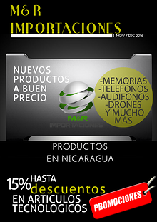Catálogo de mes de Noviembre y Diciembre   M&RIMPORTACIONES