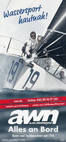 AWN Frühlings-Kampagne // Wassersport hautnah
