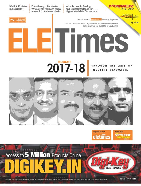 ELE Times March 2017 ELE Times