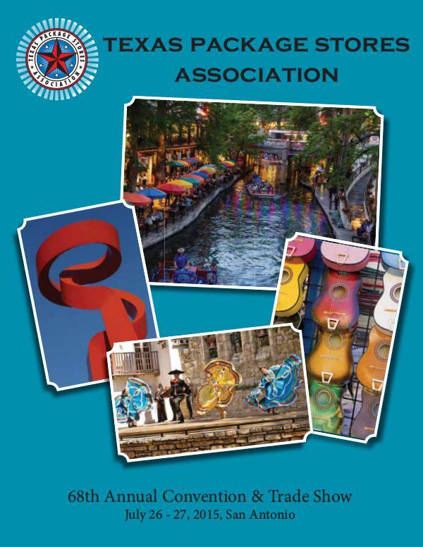 2015 Convention Program 2015 Convention Program