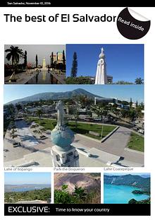 Tourist Catalog about El Salvador