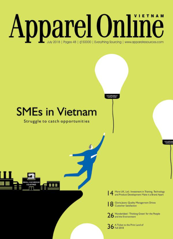Apparel Online Vietnam Magazine July Issue 2018