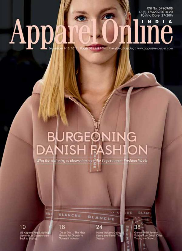 Apparel Online India Magazine September 1st Issue 2018