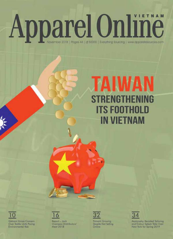 Apparel Online Vietnam Magazine November Issue 2018