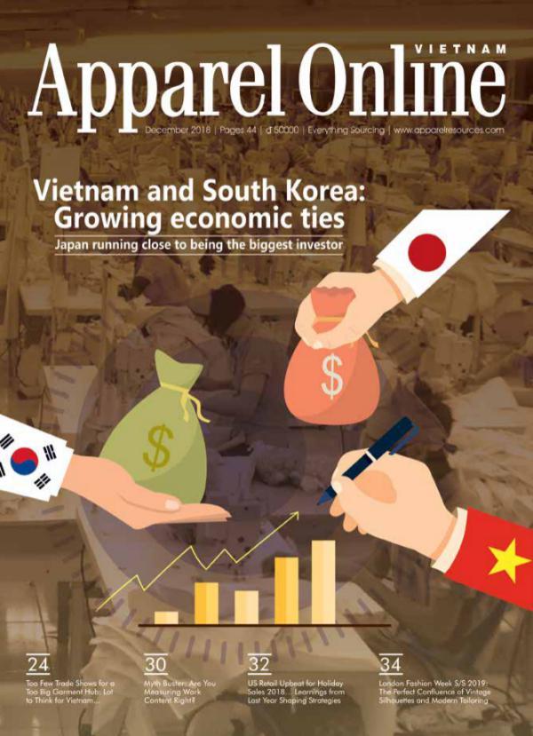 Apparel Online Vietnam Magazine December Issue 2018