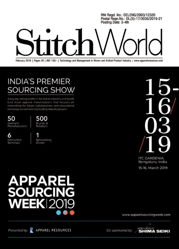 Stitch World Magazine February Issue 2019