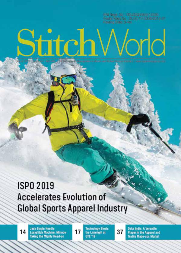 Stitch World Magazine March Issue 2019