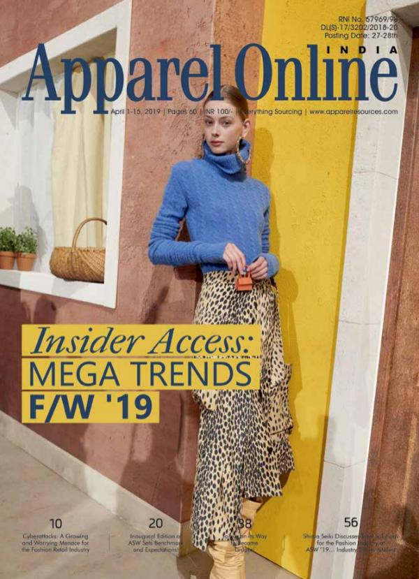 Apparel Online India Magazine April 1st Issue 2019
