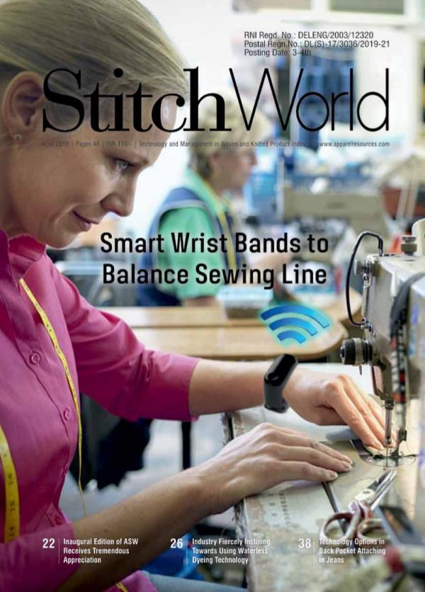 Stitch World Magazine April Issue 2019