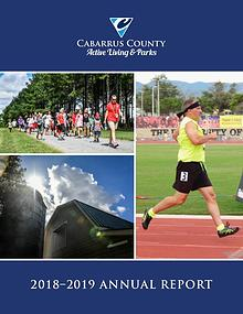 Cabarrus County Active Living & Parks 2018 Annual Report