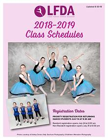 Lake Forest Dance Academy Brochure