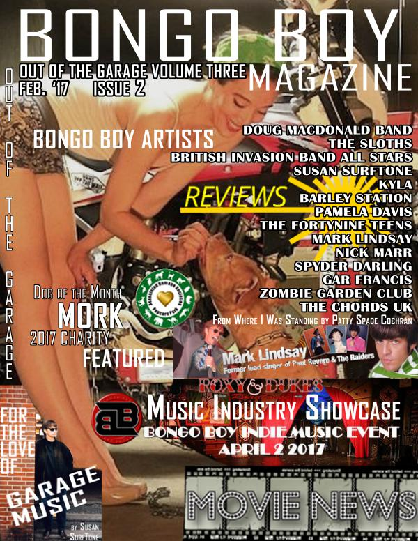 Bongo Boy Magazine Out Of The Garage Feb. 2017