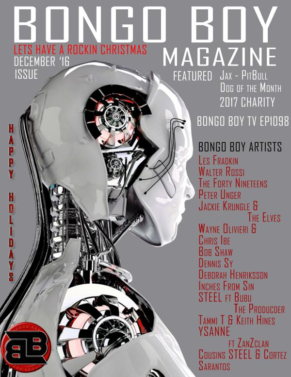 Bongo Boy Magazine Issue Volume Lets Have A Rockin Christmas