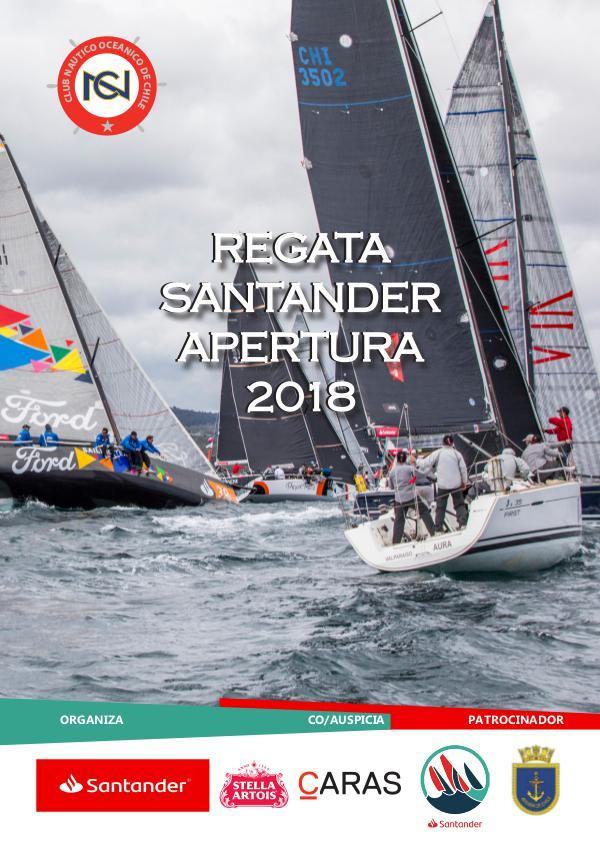 revista regata apertura 2018 revista apertura santander cno