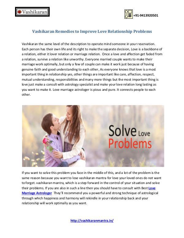 Vashikaran Ek Sammohan - Get Rid Of Your Love Problems Vashikaran Remedies to Improve Love Relationship P