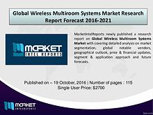 Comparative Global Wireless Multiroom Systems Market 2016-2021