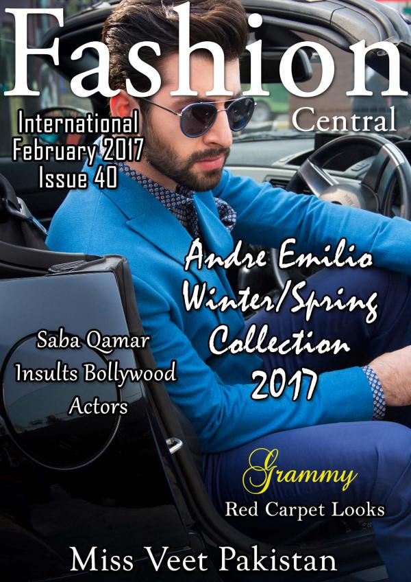 Fashion Central international  Issue Fashion Issue
