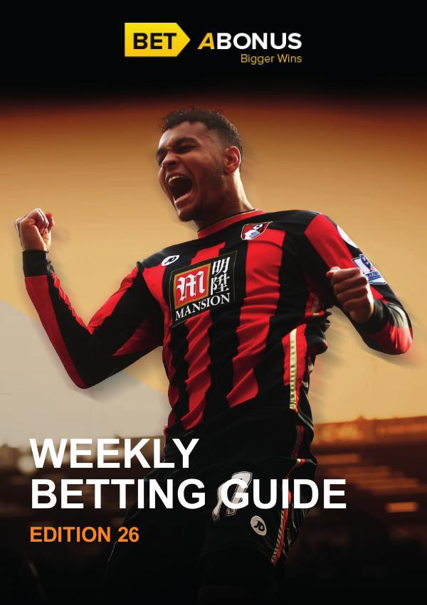Weekly Betting Guide Weekly Betting Guide 25