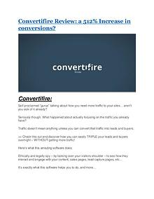 Convertifire review & huge +100 bonus items