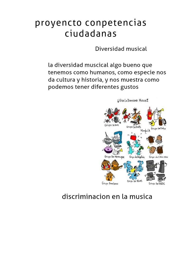 diversidad musical 1