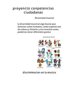 diversidad musical