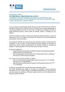 Concurso de vídeo del Institut français (Canarias)